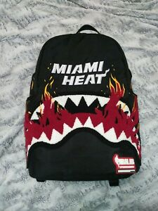 Sprayground-NBALab-Miami-Heat-Embroidered-Backpack-Limited-Edition-Never-Made