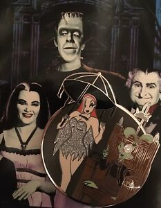 Jessica-And-Roger-Rabbit-As-The-Munsters-3-Enamel-Pin-Badge-LE45