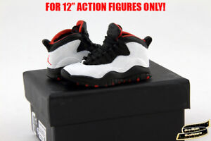 1-6-Air-Jordan-10-TOYS-Sneakers-Enterbay-Nike-Keychain-Sports-Hot-Shoes-Box-USA