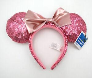Disney Parks Minnie Ears Light Purple Bow Sequins New Cos Headband Mickey