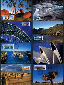 2000-Great-Southern-Land-Maxi-Cards-Prepaid-Postcard-Maxicards-Australia