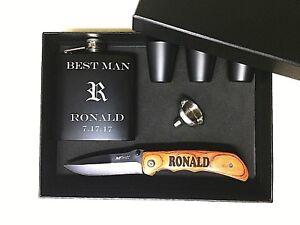 Details About Groomsmen Gift Groomsmen Gift Box Groomsman Gift Set Personalized Knife