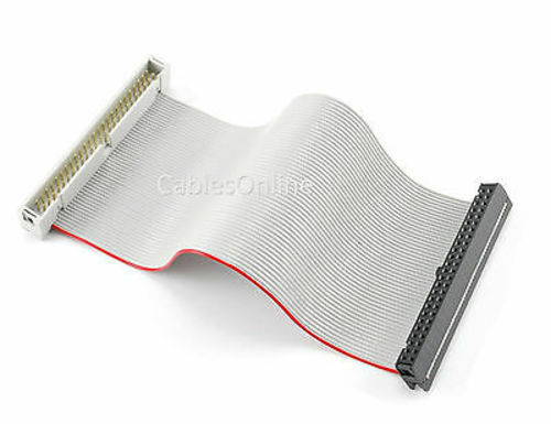 CablesOnline 6 inch Internal IDC 50-Pin SCSI Male//Female Extension Ribbon Cable