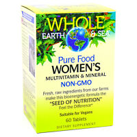 Natural Factors Women's Multi Vitamin - 60 Tablets - 1 Month Supply