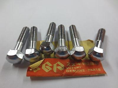 NOS SUZUKI EXHAUST BOLTS GT380 GT550 GT750 GT RM TM TS 01204-08357