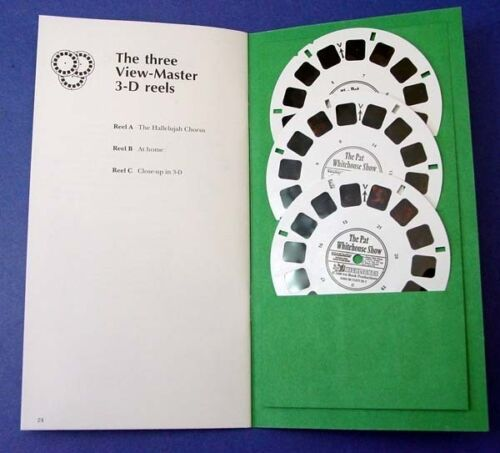 Great 3d photography! 3 View-Master Reels The Pat Whitehouse Show