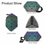 Geometric-Purse-Luminous-Crossbody-Bags-Irredescent-Wallet-Holographic-For-Women thumbnail 66