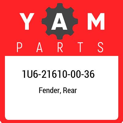 Yamaha 1U6-21610-00-36 FENDER  REAR