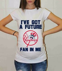25df07511214a Image is loading New-York-Yankees-Shirt-Pregnancy-Shirt-Maternity-Tee-