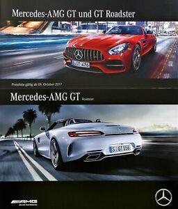 2190-Mercedes-AMG-GT-Roadster-brochure-Prospekt-2016-mit-Preisliste-2017