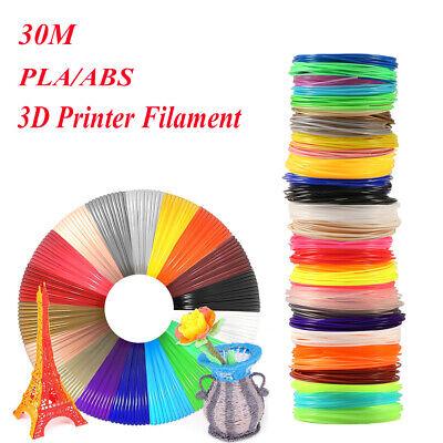 30M Premium 3D Printer Filament 1.75mm ABS// PLA Printing Material Pr For 3D A2X1