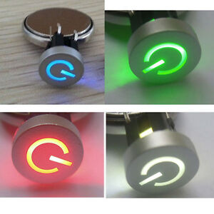 Blue-Red-Green-White-LED-Momentary-10mm-Cap-Power-12V-Tact-Push-Button-Switch