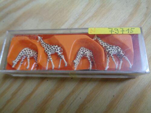 N 1:160 Preiser 79715 Giraffen OVP