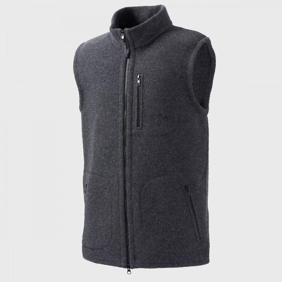 Chaleco de lana gris de Ivo muflón para lana  de hombres de Merino  todos los bienes son especiales