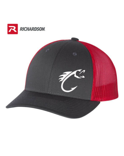 FISHING  HOOK FISH RICHARDSON  HAT MANY COLORS AVAILABLE *FREE SHIPPING in BOX*