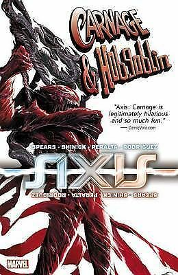 1 of 1 - Axis Carnage & Hobgoblin by Kevin Shinick Marvel (Paperback 2015)< 9780785193111