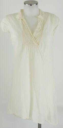 40 Tunika Robe Soie Longshirt L Neuf Avec Crème Étiquette Please Coton Blanc wIqUZFUdg