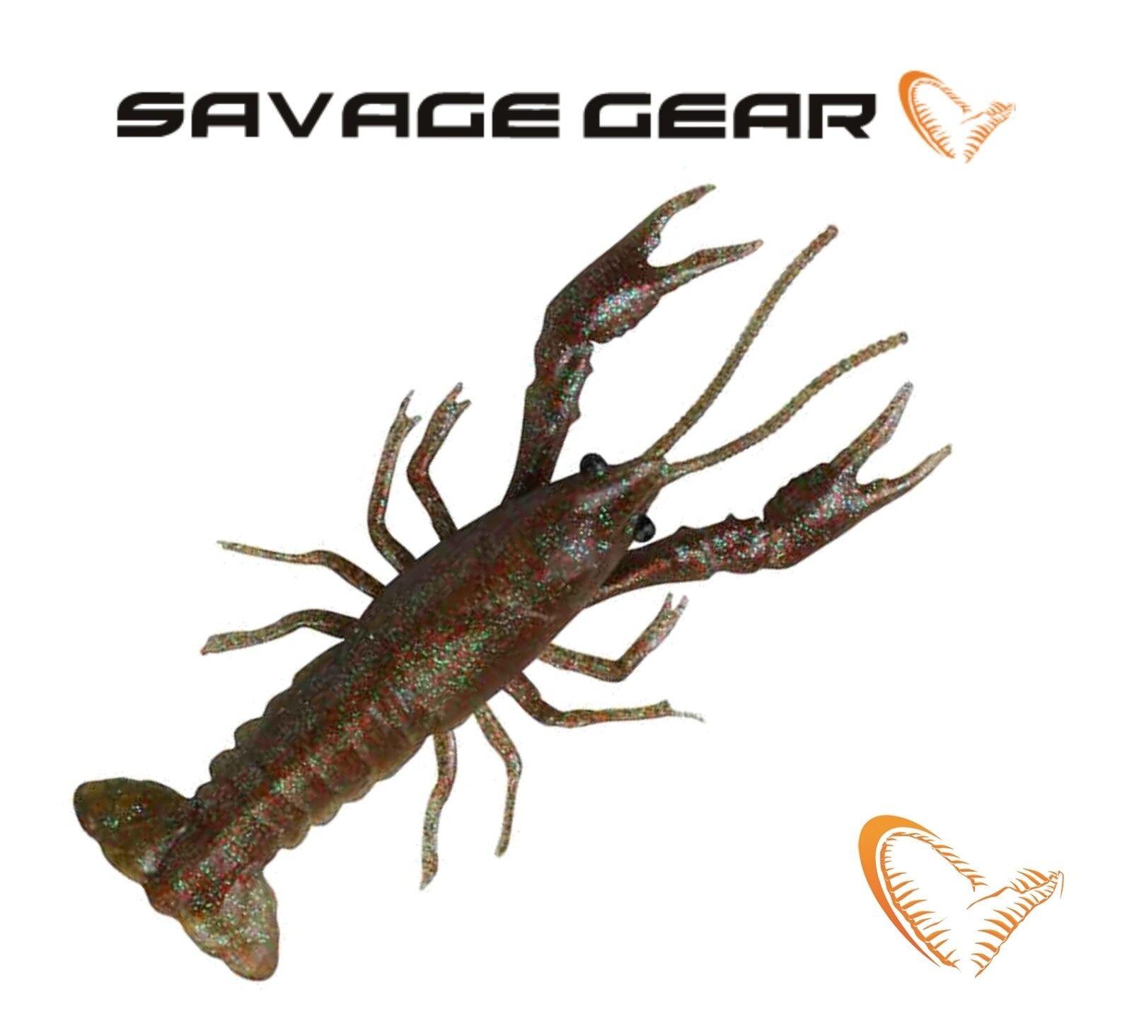 Savage Gear 3D Reaction Crayfish LB 8cm 12,5cm Soft Plastic Bait Lure Fishing LR