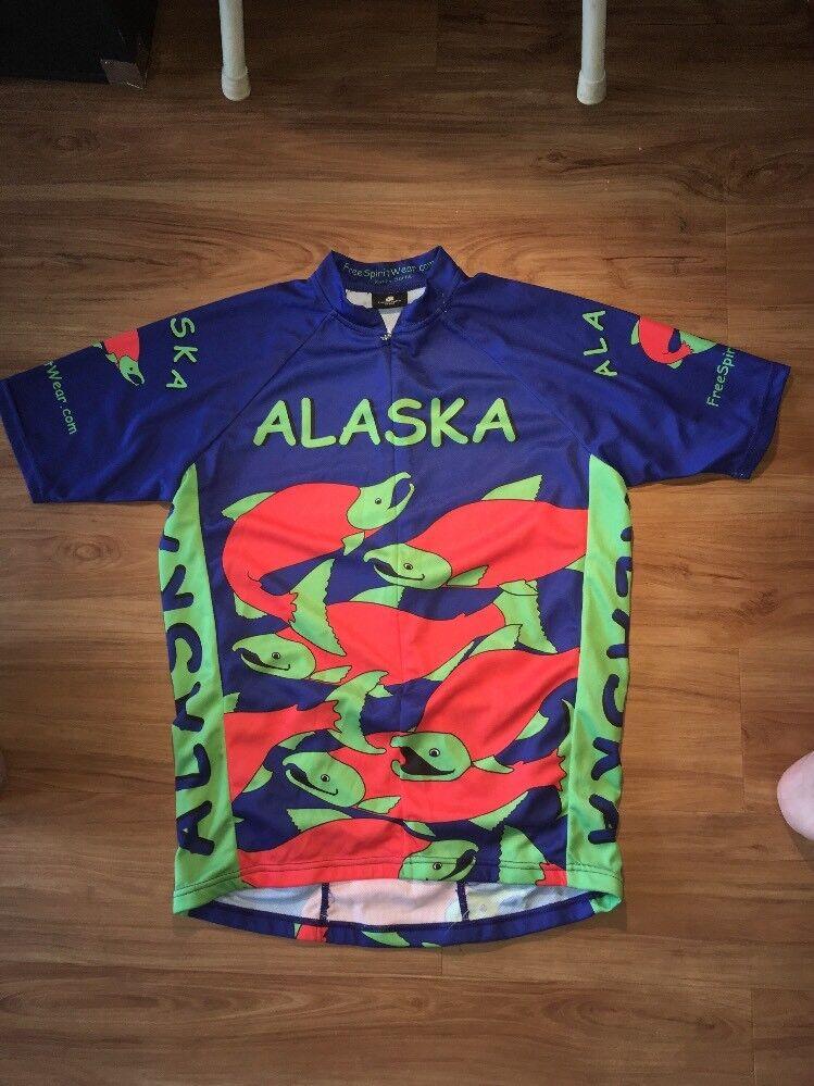 Alaska Cycling Jersey  Herren Medium Champion Champion Champion Systems f1071d