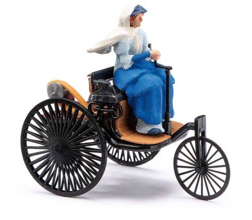 """Busch 40007 Benz Patent Motor carro con conductora /""""Berta Benz/"""" ho 1:87 nuevo"""