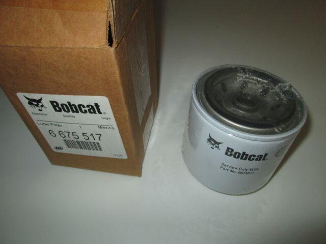 Bobcat # 6675517 Engine Oil Filter Skid Steer Loader