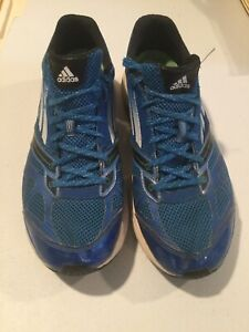Adidas-Adizero-Tempo-Size-11-Men-039-s-Running-Shoes-Blue-G64401-With-Continental-B