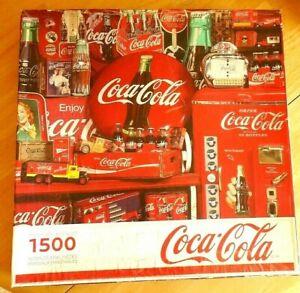 Springbok Coca Cola Recuerdos Jigsaw Puzzle 1500 Piezas Coca Cola Memorabilia 28 75x36 Ebay
