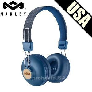 House-of-Marley-Positive-Vibration-2-Wireless-Headphones-Noise-isolating-Denim