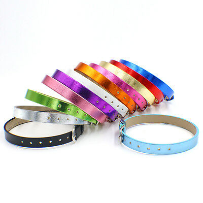 10pcs 18+8mm PU Leather Wristband bracelet Fit 8mm slide letter slide charms