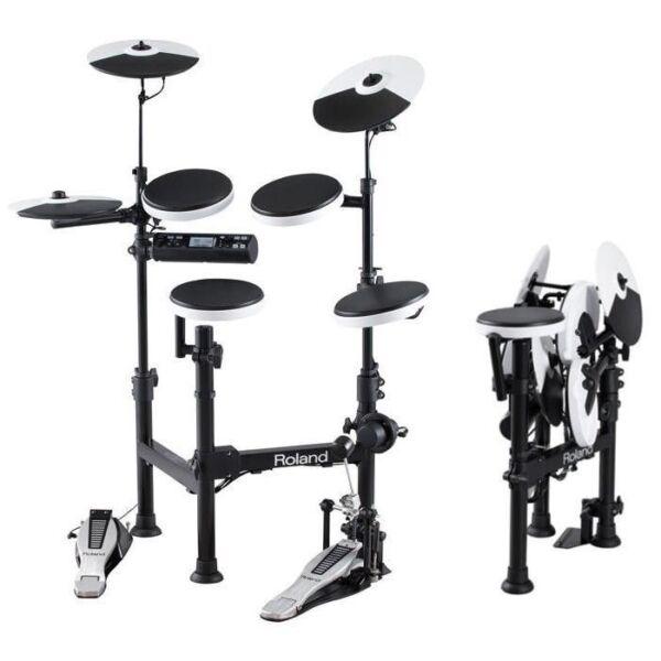 roland v drums td 4kp portable electronic drum kit td4kp for sale online ebay. Black Bedroom Furniture Sets. Home Design Ideas