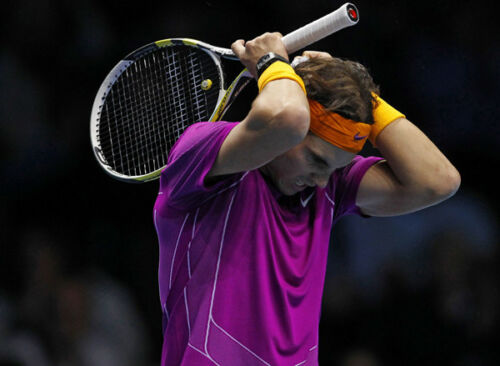 Rafael Nadal UNSIGNED photo - K6054 - Spanish Tennis Superstar - NEW IMAGE!!!
