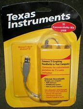 CALCULATOR TI TEXAS INSTRUMENTS USB GRAPH LINK TI 83 85 86 89 92 PLUS VOYAGE 200