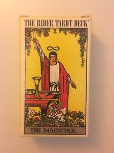 Rider Waite Tarot Deck The Magician Famous - Pamela Colman Smith 1971