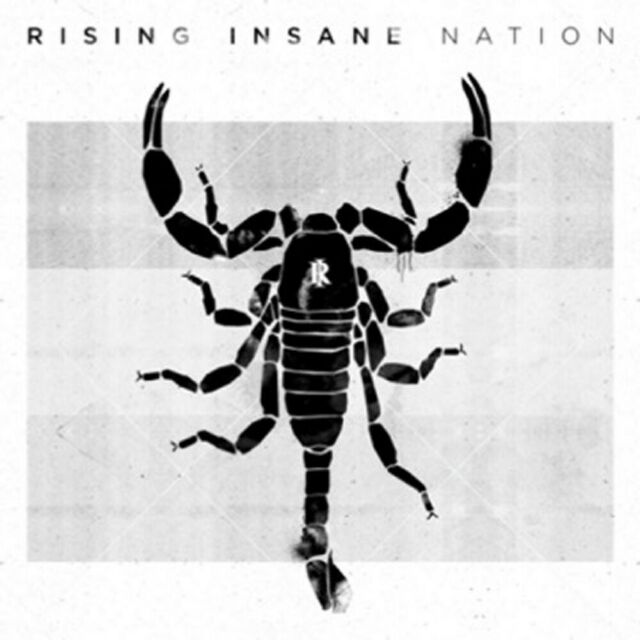 RISING INSANE - NATION   CD NEU