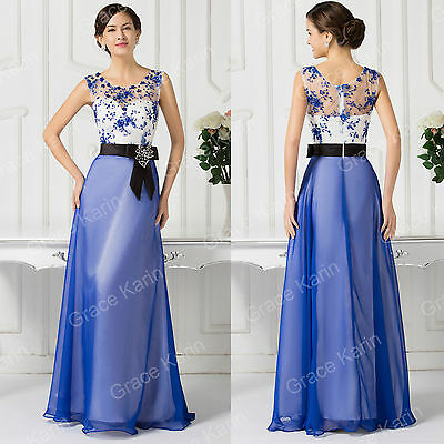 Long Rockabilly Floral Ball Gown Wedding Formal Evening Masquerade Prom Dresses