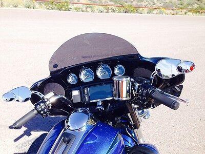 """2014-2019 Street Glide Harley 8"""" Windshield Dark Tint – Tri-Glide"""