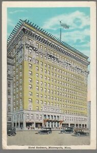 28855-1932-POSTCARD-THE-HOTEL-RADISSON-MINNEAPOLIS-MINNESOTA