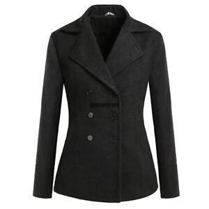 Women-Military-Wool-Peacoat-Coat-Jacket-Warm-Wool-Blend-Lapel-Button-Warmer-Gift