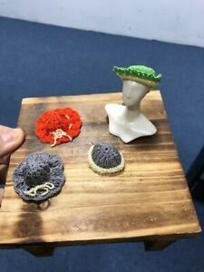 Handmade-Miniature-knitting-Hat-Cap-1-12-Dollhouse-Decor-Accessory-B