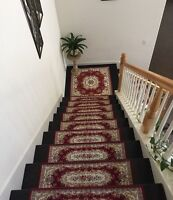 Acrylic Stair Trend Protector Landing Protector Frontage Mat, Stair Runner Decor