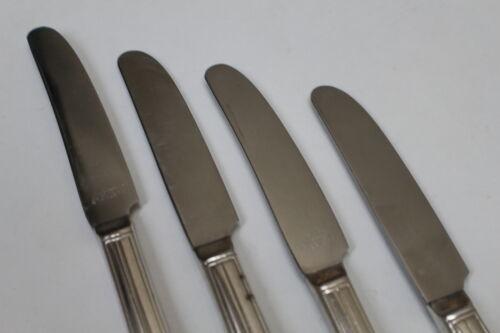 Hiawatha Silverplate Flatware Grille Knives 4 Wm Rogers Memory