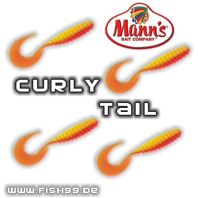 softtwister de Homme /'s Curly tail 10,5 cm HY 20 st