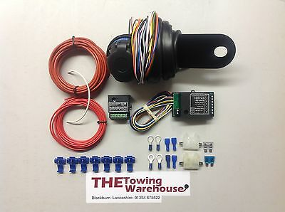 Jaguar Towbar Towing Self Switching Relay kit For Charging Systems /& Fridge