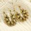 Bohemia-Argent-Or-Plaque-Creux-Lotus-Pendants-d-039-oreilles-pour-femme-Fleur-Bijoux miniature 13