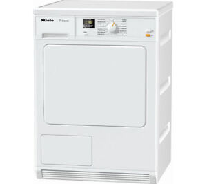 Details about MIELE TDA140C Condenser Tumble Dryer - White - Currys