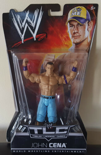 "JOHN CENA TLC 7/"" WRESTLING ACTION FIGURE WWE TNA WWF DEC 19TH 2010 PPV NEW RARE"