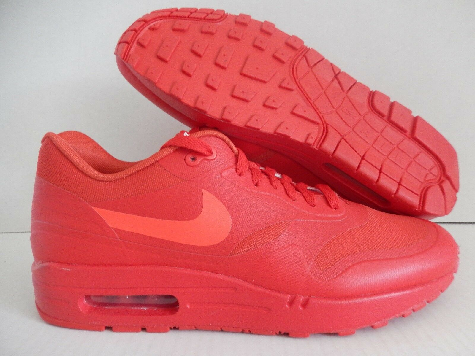 NIKE AIR MAX 1 ID MARK PARKER HTM  RED OCTOBER  SZ 9.5 [874605-991]