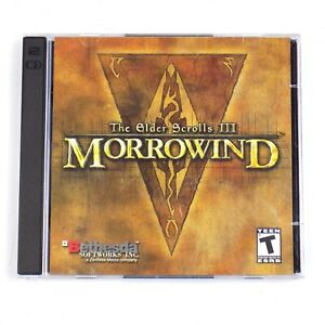 Details about Elder Scrolls III Morrowind PC 2 Disc Bethesda Softworks Game