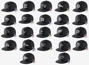 296acd38 New NFL Nike Energy True Mens Black Dri-FIT Snapback Cap Hat | eBay