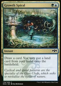Magic the Gathering MTG Growth Spiral Ravnica Allegiance   NM